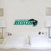 1 ft x 3 ft Fan WallSkinz-Nichols College Bison w/Bison