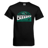 Black T Shirt-2017 Mens Basketball Champions Basketball