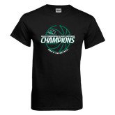 Black T Shirt-2017 Mens Basketball Champions Full Basketball