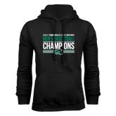 Black Fleece Hoodie-2017 Mens Basketball Champions Stacked