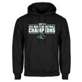 Black Fleece Hoodie-2017-18 CCC Mens Basketball Champions