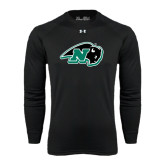 Under Armour Black Long Sleeve Tech Tee-N w/Bison