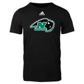 Adidas Black Logo T Shirt-N w/Bison