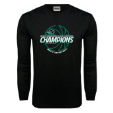 Black Long Sleeve T Shirt-2017 Mens Basketball Champions Full Basketball