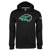 Under Armour Black Performance Sweats Team Hoodie-N w/Bison
