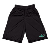 Russell Performance Black 9 Inch Short w/Pockets-N w/Bison