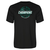 Syntrel Performance Black Tee-2017 Mens Basketball Champions Full Basketball