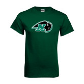 Dark Green T Shirt-N w/Bison