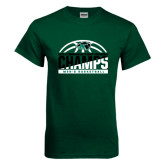 Dark Green T Shirt-2017 Mens Basketball Champions Basketball
