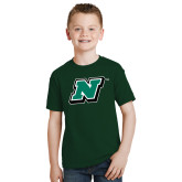 Youth Dark Green T Shirt-N