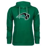 Adidas Climawarm Dark Green Team Issue Hoodie-Bison