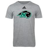 Adidas Sport Grey Logo T Shirt-N w/Bison