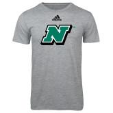 Adidas Sport Grey Logo T Shirt-N