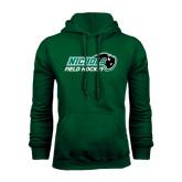 Dark Green Fleece Hood-Field Hockey