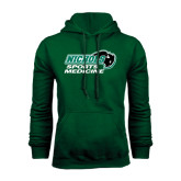 Dark Green Fleece Hood-Sports Medicine