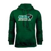 Dark Green Fleece Hood-Sports Information