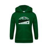 Youth Dark Green Fleece Hoodie-2017 Mens Basketball Champions Basketball