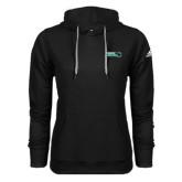 Adidas Climawarm Black Team Issue Hoodie-Nichols College Bison w/Bison