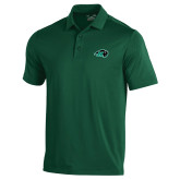 Under Armour Dark Green Performance Polo-N w/Bison