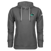Adidas Climawarm Charcoal Team Issue Hoodie-N w/Bison