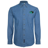 Denim Shirt Long Sleeve-N w/Bison