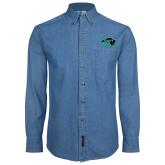 Denim Shirt Long Sleeve-N w/Bison