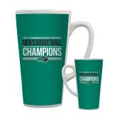 Full Color Latte Mug 17oz-2017 Mens Basketball Champions Stacked