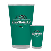 Full Color Glass 17oz-2016 Commonwealth Coast Conference Champions - Womens Tennis Spiral