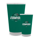 Full Color Glass 17oz-2017 Commonwealth Coast Conference Champions - Mens Tennis Spiral