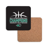 Hardboard Coaster w/Cork Backing-CCC Mens Basketball Champions