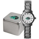 Mens Stainless Steel Fashion Watch-N w/Bison