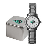 Ladies Stainless Steel Fashion Watch-N w/Bison