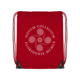 Red Drawstring Backpack-Primary