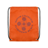 Orange Drawstring Backpack-Primary