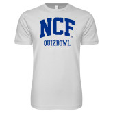 Next Level SoftStyle White T Shirt-Quizbowl