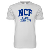 Next Level SoftStyle White T Shirt-Dance Collective