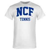 White T Shirt-Tennis