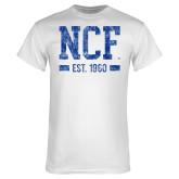 White T Shirt-NCF Est.