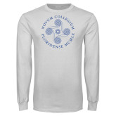 White Long Sleeve T Shirt-Primary