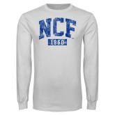 White Long Sleeve T Shirt-NCF 1960