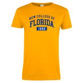 Ladies Gold T Shirt-NCF 1960
