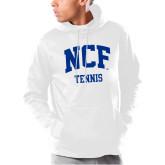 Under Armour White Armour Fleece Hoodie-Tennis