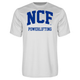 Performance White Tee-Powerlifting