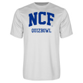 Performance White Tee-Quizbowl