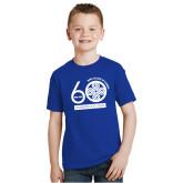 Youth Royal T Shirt-60th Anniversary