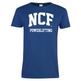 Ladies Royal T Shirt-Powerlifting