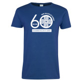 Ladies Royal T Shirt-60th Anniversary