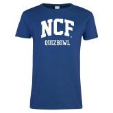 Ladies Royal T Shirt-Quizbowl