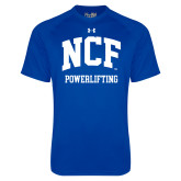 Under Armour Royal Tech Tee-Powerlifting