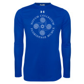 Under Armour Royal Long Sleeve Tech Tee-Primary